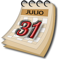�Marque el 31 de Julio del 2010 en su Calendario!